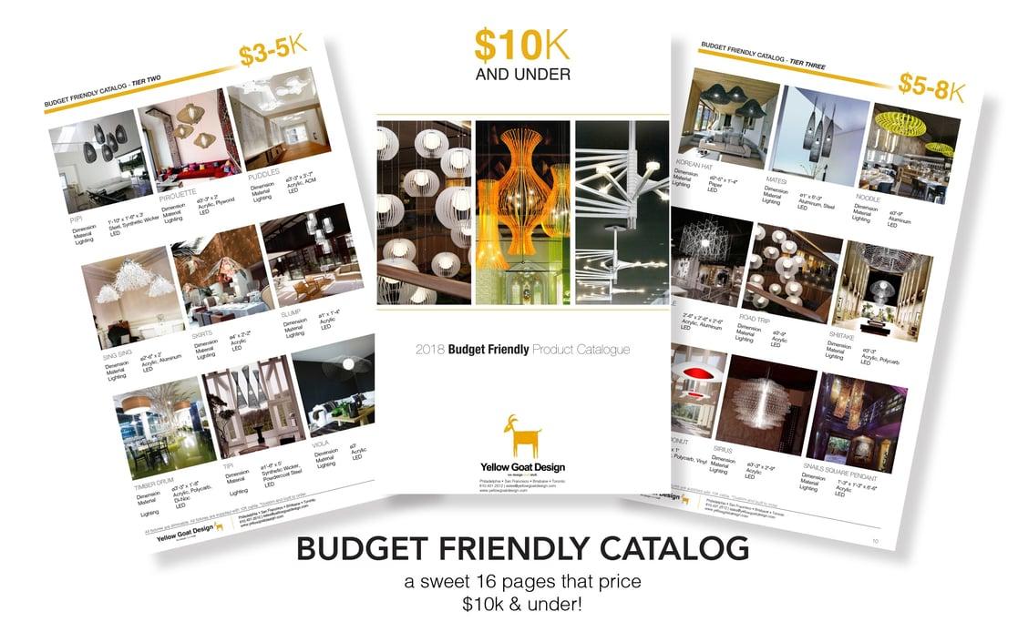 Budget Friendly Catalog