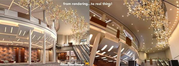 ygd_aria convention center_arboreal photo collage_render v real