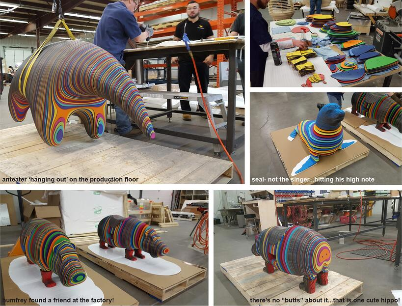 ygd_saks fifth avenue tysons galleria_rainbow humfrey_seal_anteater_production collage.jpg